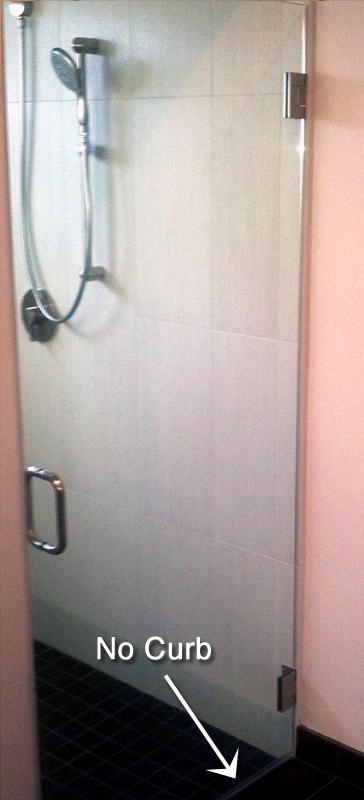 ada shower door
