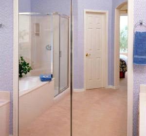 Frameless Mirrored Closet Doors closet doors | ideal mirror and glass
