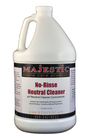 No Rinse Neutral PH Cleaner with Optical Brighteners