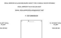Measure Single Opening PDF