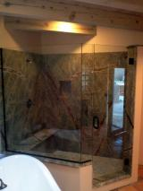 Frameless Euro with Oil Rubbed Bronze U Channel